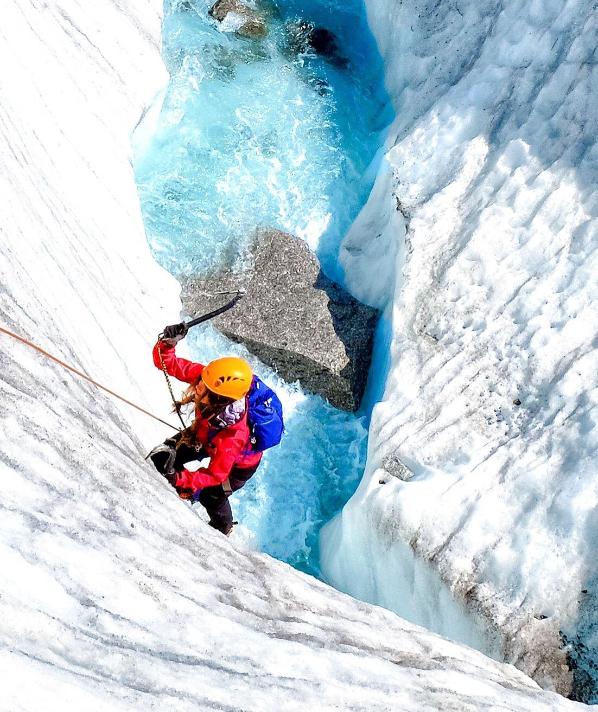 Eisklettern Chamonix